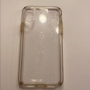 Clear Speck iPhone X Case